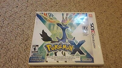 Pokemon X Nintendo 3DS complete with manul