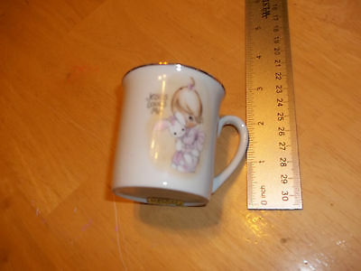 "1978 Precious Moments ""Jesus Love Me"" Decorative cup"
