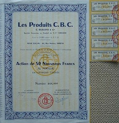France Bond With 5 Coupons For Cbc Product