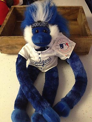 LA Dodgers Monkey with Tags !
