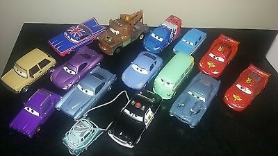 Disney Pixar Cars LONDON rescue lot loose plus extras big lot