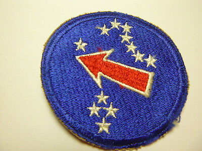 A     WW 2 U S Army Pacific Ocean Area  Cut Edge Snow  Back Patch