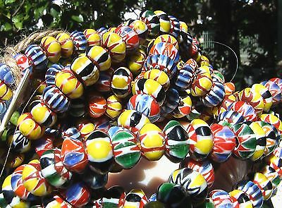 Moorish.  African Trade Beads.  Tribal Necklace.  Morocco.  Loose Beads.