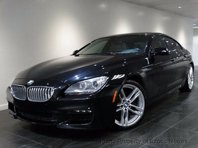 2014 BMW 6-Series 650i xDrive Gran Coupe M-Sport 2014 BMW 650i xDRIVE GRAN-COUPE M-SPORT/EXECUTIVE/COLDWEATHER/DRIVING-ASSISTANCE