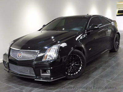 2011 Cadillac CTS 2dr Coupe 2011 CADILLAC CTS-V COUPE NAV REAR-CAMERA HEATED-SEATS BOSE XENON 19-WHELS 556HP