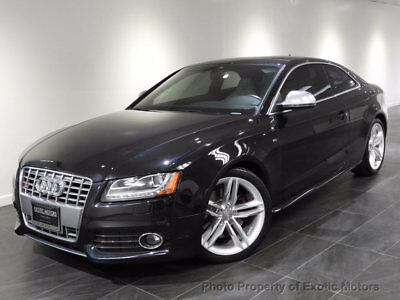 2009 Audi S5 2dr Coupe Automatic 2009 AUDI S5 COUPE NAV REAR-CAMERA HEATED-SEATS BANG&OLUFSEN TECHNOLOGY 1-OWNER