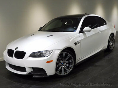 2009 BMW M3 Base Coupe 2-Door 2009 BMW M3 COUPE NAV HEATED-SEATS PREMIUM/TECHNOLOGY-PKG 19-WHEELS MSRP$70k