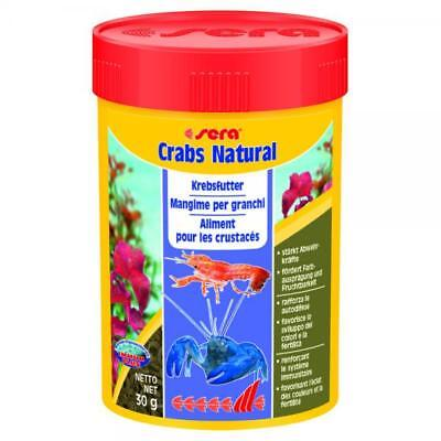 SERA Poisson Crabes Natural Food