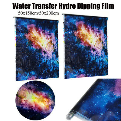 2/1.5m Starry Sky Hydro Dipping Film Star Hydrographic Water Transfer DIP Print