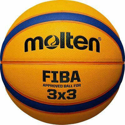 Molten Basketball Libertria 3x3 5000 Composite Leather B33T5000 FIBA Approved...