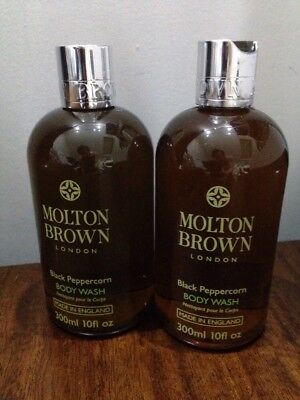 Molton Brown Black Peppercorn Body Wash 300 Ml X 2