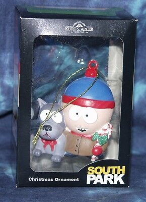 South Park Holiday Ornament - Stan Marsh with his Dog - NEW in box - Very Cool