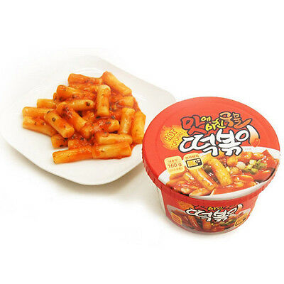 Spicy Korean Stir-fried Rice Cake Tteokbokki Korea Instant Cup Food