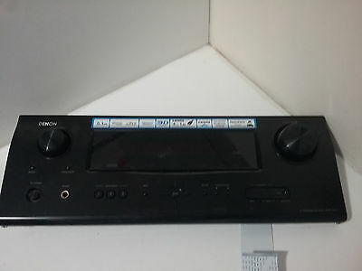 DENON AVR-1611 Amplifier Front panel & Attached Board Behind 100% Working