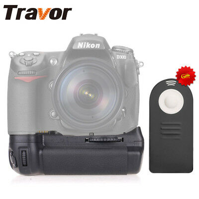 Travor Battery Grip for Nikon D300 D300S D700 DSLR Camera as MB-D10 with IR Gift