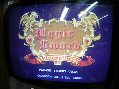 Magic Sword Capcom Jamma game board arcade 1990