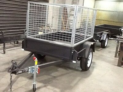 Trailer 6X4  Heavy Duty With Cage Brand New  Melton Victoria