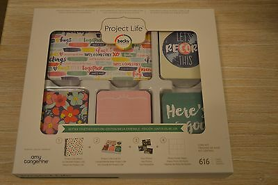 ~ Project Life ~ Becky Higgins Core Kit. Better Together Edition. BNS