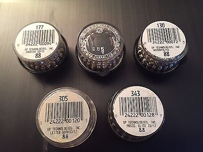 IBM  Selectric II Balls Elements Brand New Set of 5 RARE NEW Price Reduced