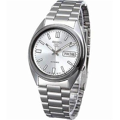 Seiko Men's 5 Automatic Watch, Stainless Steel