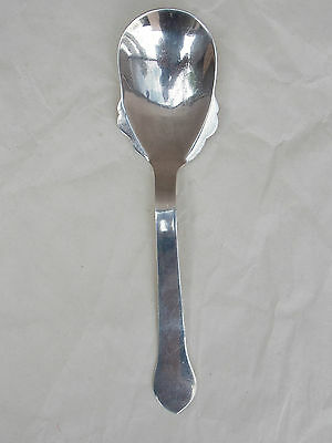 CARMEN BECKMANN 925 Sterling Silver SERVING SPOON Vintage Mexican 94 grams