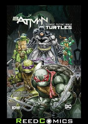 BATMAN TEENAGE MUTANT NINJA TURTLES GRAPHIC NOVEL Paperback Collects Issues #1-6