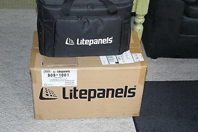 Litepanels Caliber 3-Light LED Fresnel Kit #909-1001- Used Less Than 2 Hours!!