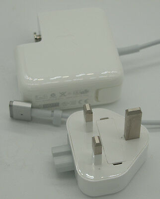 """Genuine USED Apple 60 W Macbook Pro 13"""" Retina MagSafe 2 Power Adapter Charger"""