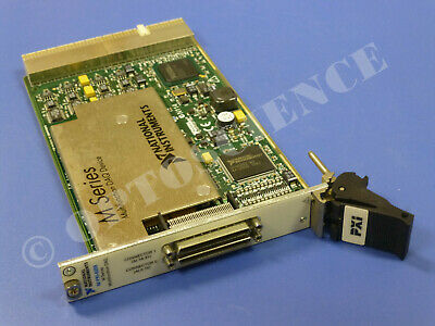 National Instruments PXI-6259 NI DAQ Card, 32 Ch Analog Input, Multifunction