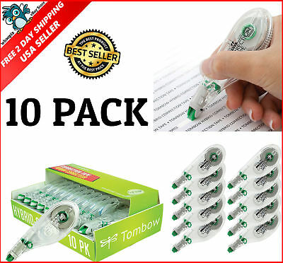 Mono Hybrid Correction Tape White-Out Break Proof 10-Pack Office School Supplies