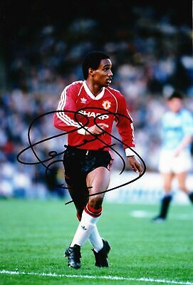 Paul Ince Signed 12X8 Photo MANCHESTER UNITED AFTAL COA (9064)