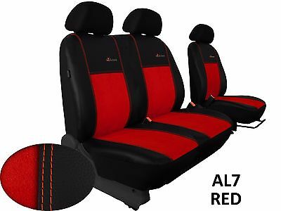 Ford Transit Custom Van From 2013 Eco Leather Alcantra Seat Covers Tailored Lhd