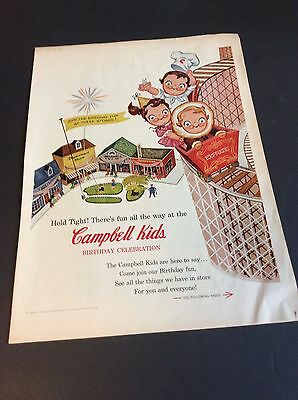 Campbell's Soup Company November 1956 Magazine Excerpt of CAMPBELL KIDS Toy Ads