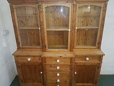 Solid pine Large Dresser victorian style quality Handmade