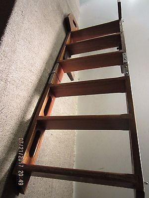 Vintage Nautical, Wooden Fold Up, Boat Ladder