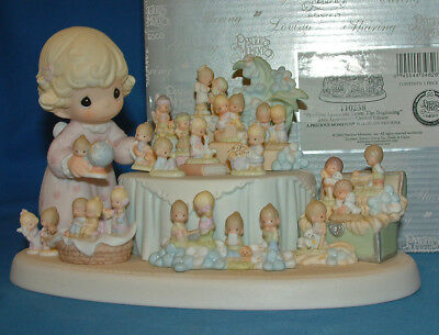 Precious Moments Figurine - pm 110238From The Beginning, 110238 w/box