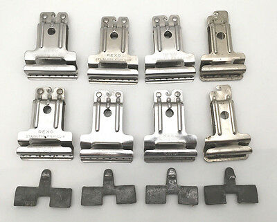 REXO Stainless Steel Film Clips & Weights. 4 Sets / 12 pcs. Dry 4 rolls at once!
