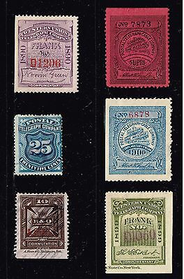 Usa Stamp  Revenue - Bob - Telegraph Stamps Collection  Lot -2