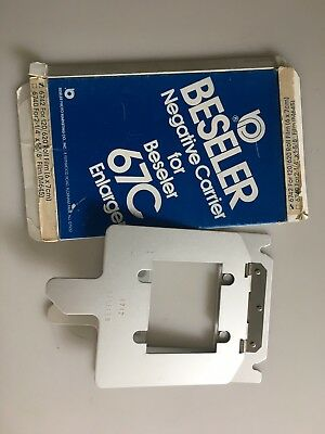 Beseler 6742 6x7 Negative Carrier 67 67C Series Enlargers New Old Stock