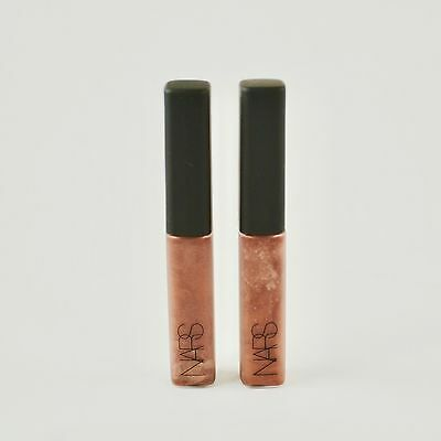 Nars Lip Gloss Laguna - Lot of 2 Travel Size Tubes x 0.14 Oz / 4 g - New