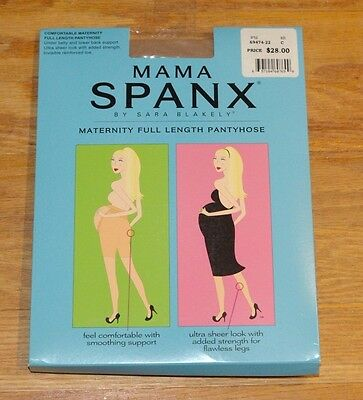 Mama Spanx Maternity Full Length Pantyhose #69474-22 Size C Pregnancy Support