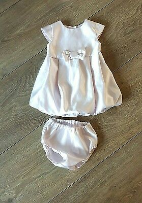 Baby Girls 2 pce Party Dress and Knickers age 3-6 months