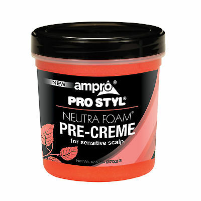 [Ampro] Pro Styl Neutra Foam Pre-Creme For Sensitive Scalp 12.5Oz