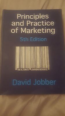 Principles and Practice of Marketing 5th Edition by David Jobber