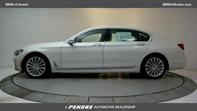 2018 BMW 7-Series 740i 740i 7 Series 4 dr Sedan Automatic Gasoline 3.0L STRAIGHT 6 Cyl Mineral White Me