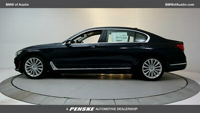 2018 BMW 7-Series 740i 740i 7 Series New 4 dr Sedan Automatic Gasoline 3.0L STRAIGHT 6 Cyl Imperial Blu