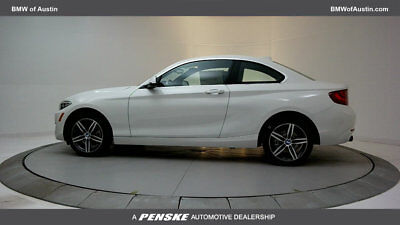 2017 BMW 2 Series 230i 230i 2 Series New 2 dr Coupe Automatic Gasoline 2.0L 4 Cyl Alpine White