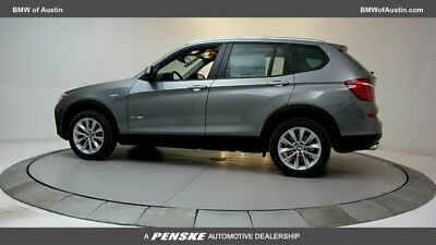 2017 BMW X3 sDrive28i sDrive28i New 4 dr Automatic Gasoline 2.0L 4 Cyl Space Gray Metallic