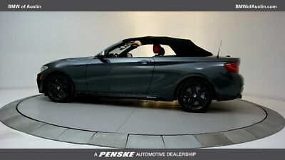 2017 BMW 2 Series M240i M240i 2 Series New 2 dr Convertible Automatic Gasoline 3.0L Straight 6 Cyl Miner