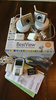 Summer Infant Best View Video Monitor 28030 with 2 Cameras